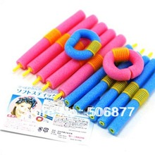 24pcs/lot DIY SOFT ANION EPE BENDY HAIR ROLLERS FOAM CURLERS For Fashion Sexy Women(China (Mainland))