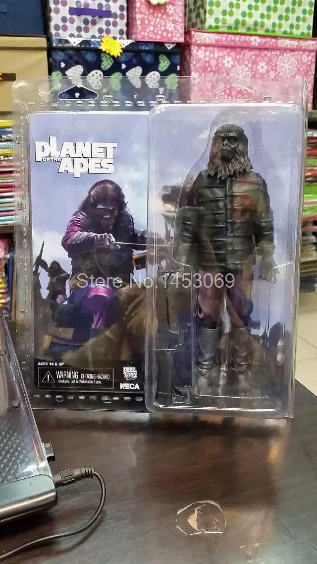 NECA Planet of the Apes Gorilla Soldier PVC Action Figure Collectible Toy 8 20CM