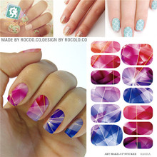 Wholesale Diy Galaxies Design Nail Art Stickers  Manicure Water Transfer Nail Decals Nail Decorations Tools Tips Patch KH021A