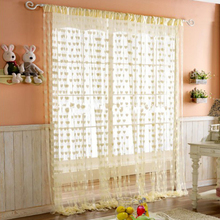 SPLENDID Cute Heart Line Tassel String Door Curtain Window Room Divider Curtain 200X100CM(China (Mainland))