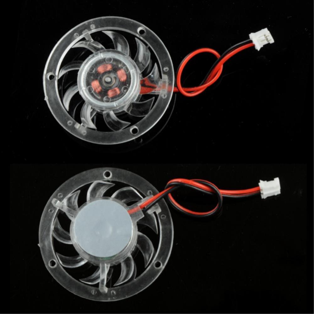 Mini 48mm 12V PC CPU VGA Video Card Heatsink Cooling Cooler Fan 2 Pin Connector(China (Mainland))