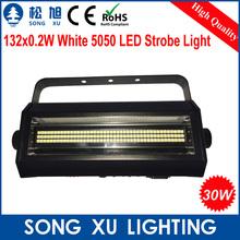 4pcs/lot cheapest free shipping 132*0.2w 30W LED Single Head Strobe Flash Light Stage Equipment/SX-SL132(China (Mainland))