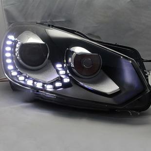 2010-2012 V.W. European Version Golf 6 GTI  Headlights Assembly, 15 LED bulbs