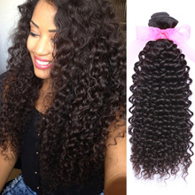 Malaysian Deep Curly Human Hair 10a Unprocessed Virgin Hair Extensions Malaysian Curly Hair 4 Bundles Kinky Curly Virgin Hair(China (Mainland))