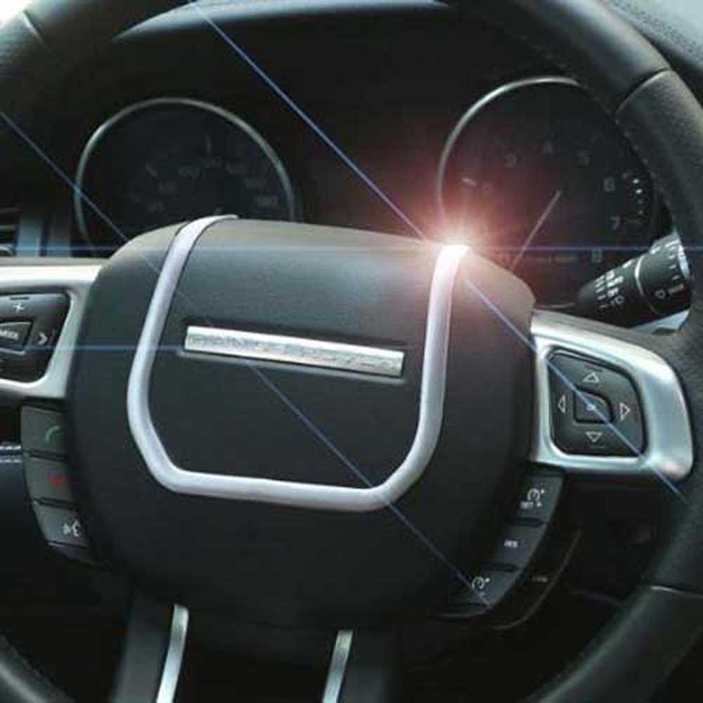 Интерьер абс хромированные аксессуары для rover evoque руль многофункциональный переключатель декоративным покрытием рамка