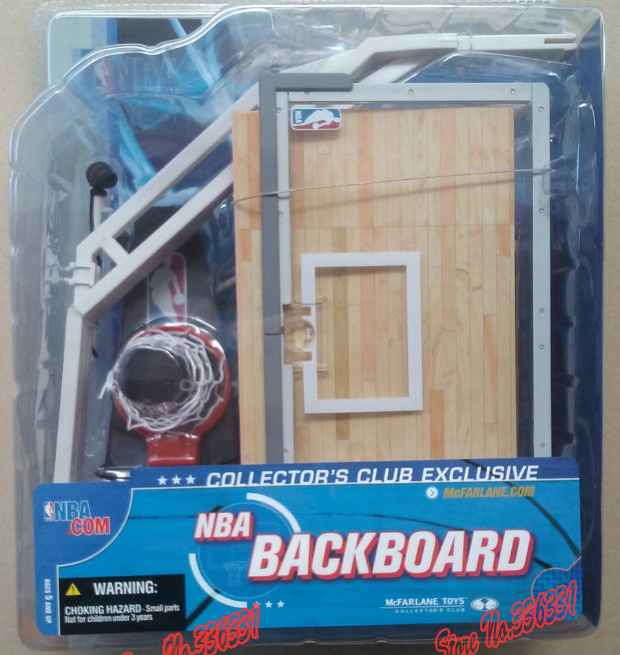Hot Sell High Quality One Piece Toys Exclusive Brinquedo McFarlane NBA Series 5 Backboard Action Figure Free Shipping(China (Mainland))