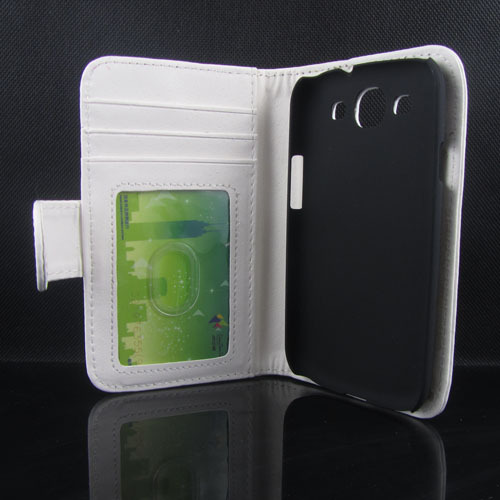 Promotion! Luxury Wallet Flip Case Samsung Galaxy S3 SIII i9300 Cell Phone Leather Cover Bags Card Slot + Photo Frame - GRASS Technology Co.,Ltd store