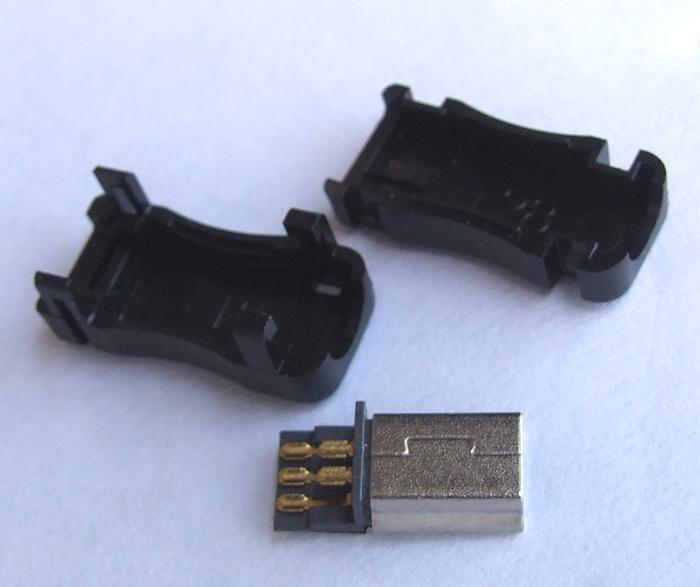 50PCS/lot Plastic 5 Pin Mini USB Plug Male Connector for MP3 MP4 GPS PSP Charger PLUS(China (Mainland))
