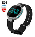 E08 Bluetooth Smart Bracelet Waterproof Pedometer Heart Rate Monitor Fitness Tracker Wristband for iPhone 5s 6s