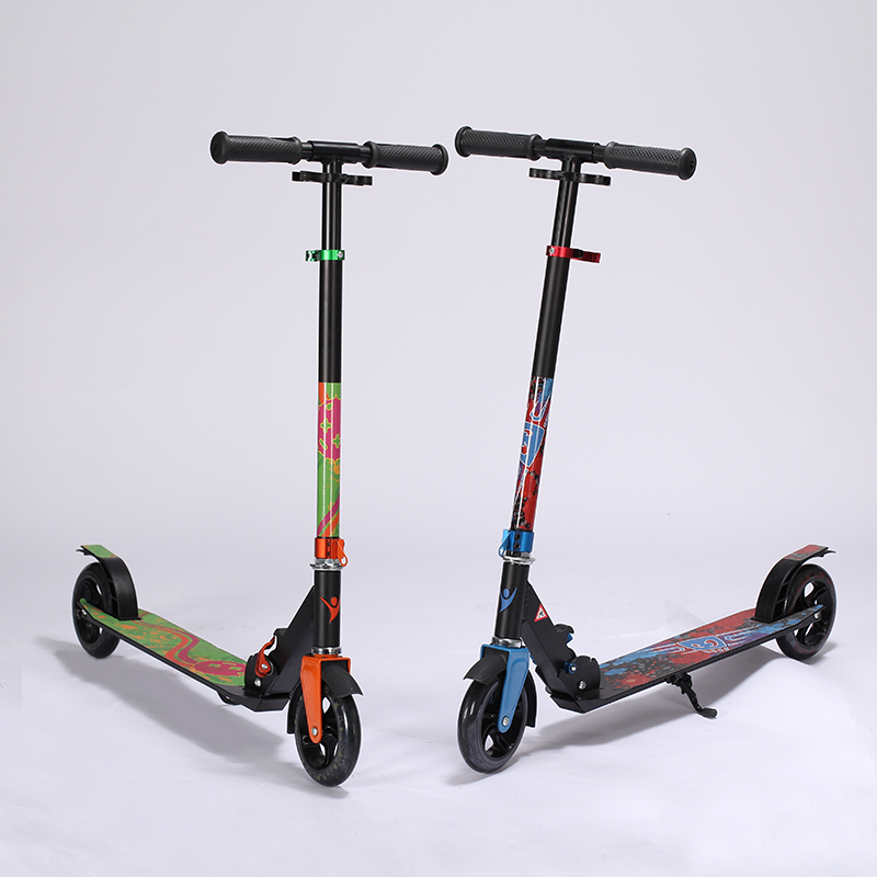 Aluminum Alloy 2 Wheel Scooters Adults Kids Folding Portable Mini Bicycle Kick Scooter Height Adjustable trottinette scooter