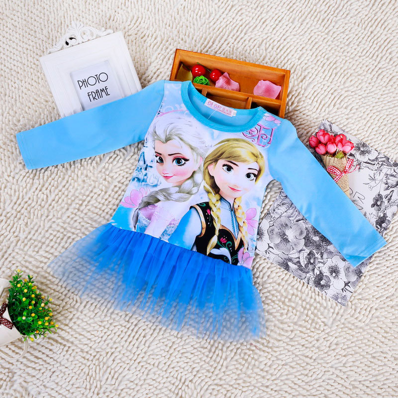 Retail 2015 o neck sleeveless girls cartoon my little horse dress kd2~kd6 baby girls clothes vestidos hot sale(China (Mainland))