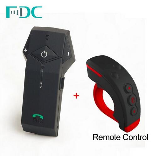 2016 Newest Remote Control Bluetooth Headset Intercom BT Motorcycle Interphone comunicador para capacete +FM Radio NFC Function(China (Mainland))