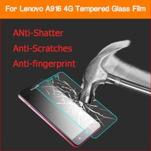 0.26mm 2.5D 9H Premium Anti shatter Tempered Glass film lenovo A916 4G 5.5 inch LCD Screen Protector Films Lenovo - X'MAS GIFT STORE store