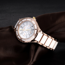 2015 Luxury Brand Watch Fashion Rose Gold Quartz Watch Women Dress Watches Lady Hour Clock montre
