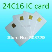 High Quality ATMEL 24c16 ISO 7816 Contact Smart Card Phone IC Card Medical Insurance Card(China (Mainland))