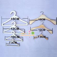 5 unids/lote madera de calidad ganchos de metal para blythe doll para 1/3 1/4 1/6 BJD muñeca de accesorios