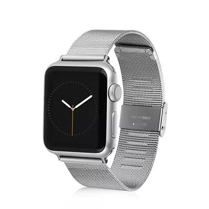 Silver milanese loop metal Band for apple watch 42mm Stainless steel clasp Strap for apple watch 38mm Watchband(China (Mainland))