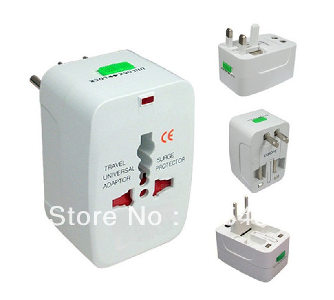 Retail Universal International Travel Power Adapter Socket