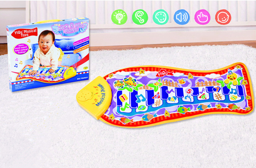 36pcs Delicate Music Sound Animal Kids Baby Play Mat