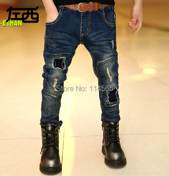 Retail + ++ autumn 2014 new baby boy, children's wear jeans boy fashion jeans, han edition - Black Tuesday store