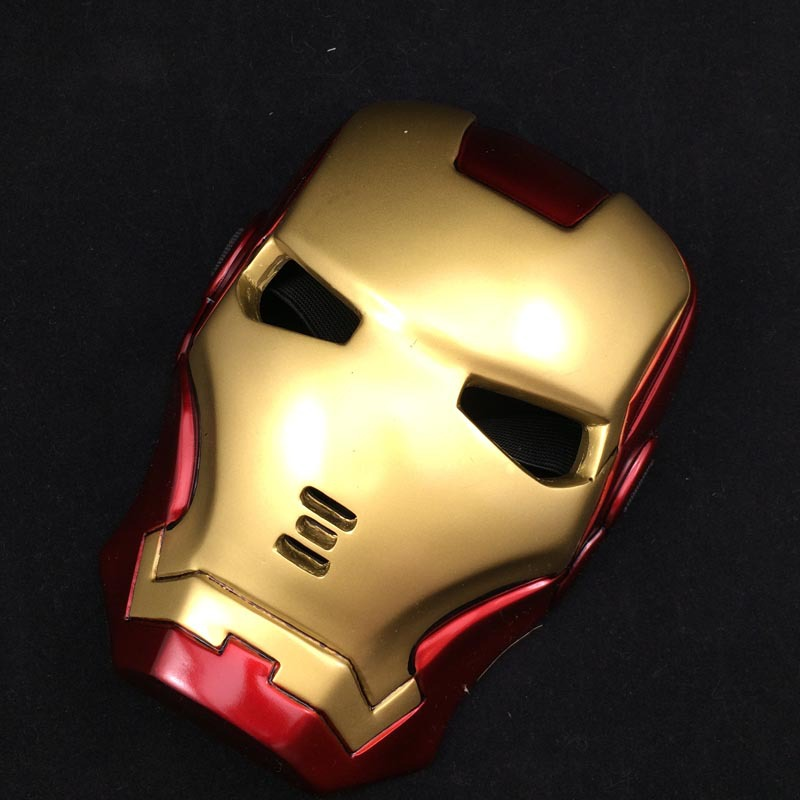 High quality Iron Man Helmet The Avengers Halloween Movie mask ironman adult party COSplay masquerade masks Carnaval Costume Toy(China (Mainland))