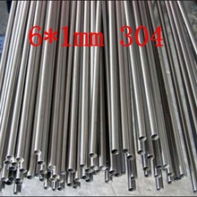 6*1mm Authentic 304 SS stainless steel bright capillary tube,small pipe,customized(China (Mainland))