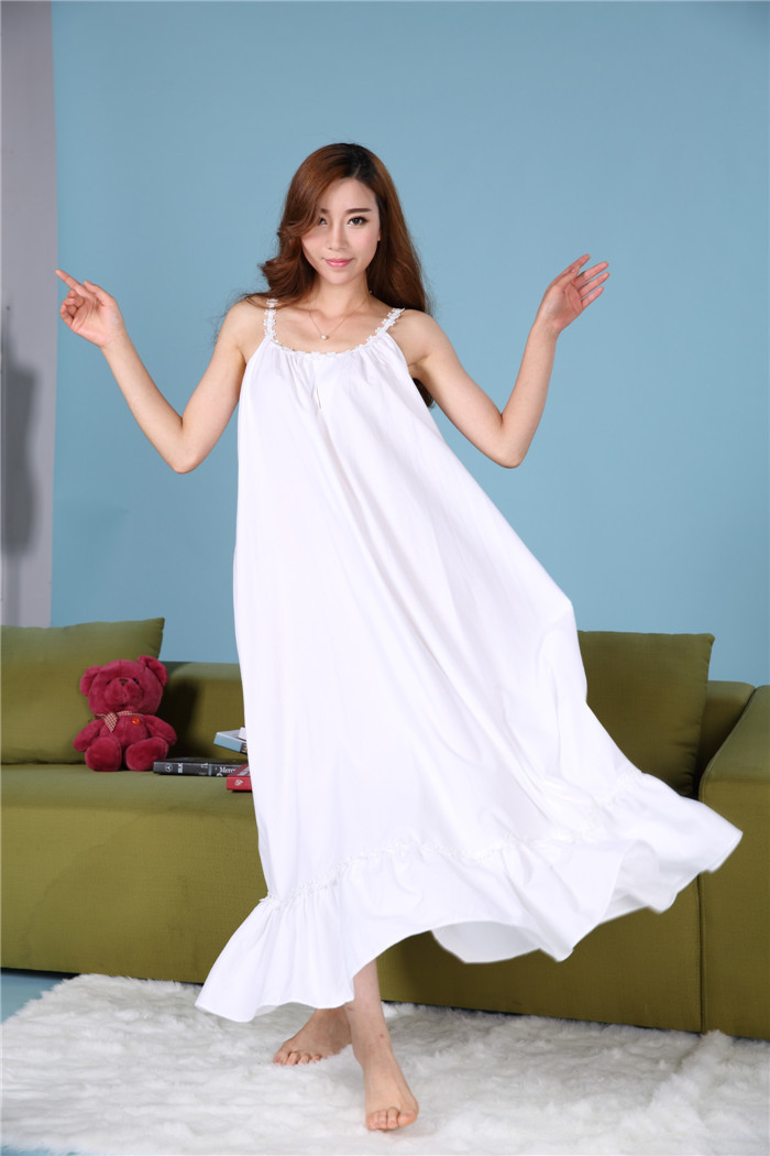 Aliexpress.com : Buy plus size long cotton nightgowns ...