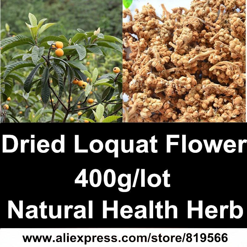 Dried Loquat Flower 400g Natural Ursolic Acid Herbs Cough Health Care Flower Tea<br><br>Aliexpress