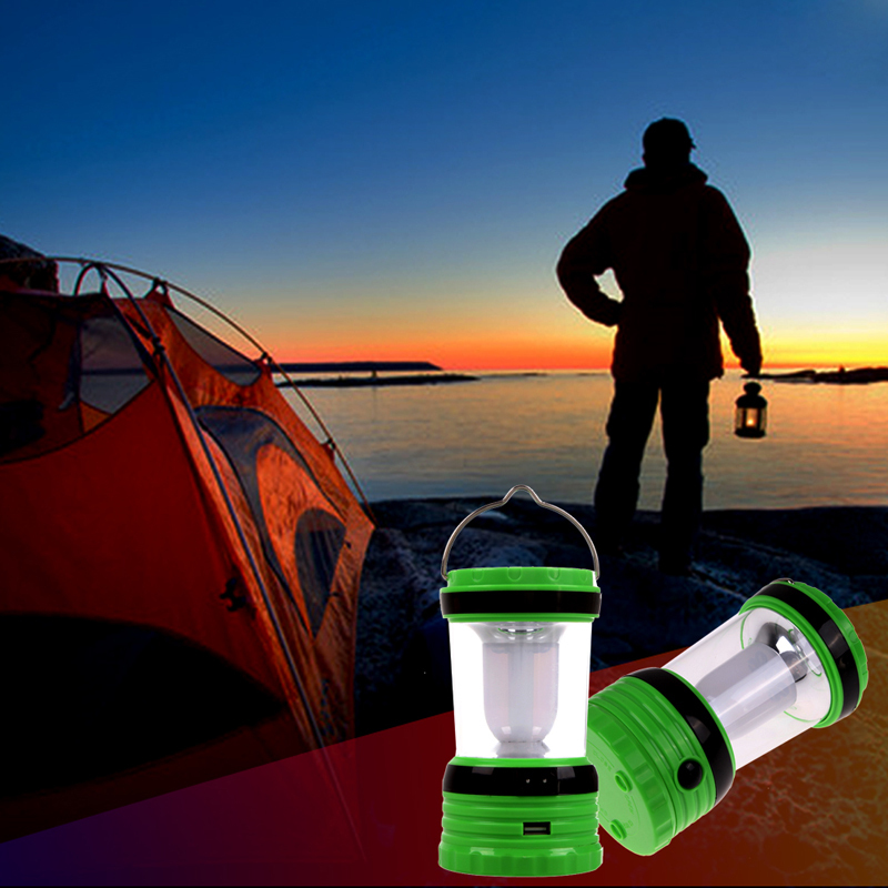 Free Shipping Solar Rechargeable Portable Emergency Outdoor Camping Light green MTY3<br><br>Aliexpress