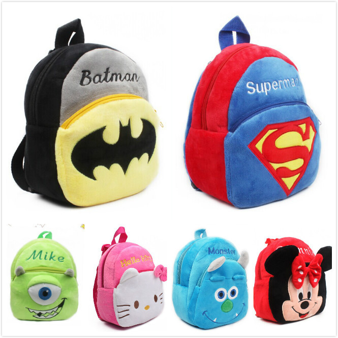 Girls Cartoon Knapsacks, Dolls cute school bags for kid children cat prints backpack gift RETAIL(China (Mainland))