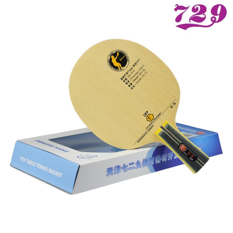 Friendship 729 V5 V-5 7 Ply Carbon Table Tennis Racket Blade Paddle Plate Ping Pong Bat Penhold Shakehand Tenis De Mesa<br><br>Aliexpress