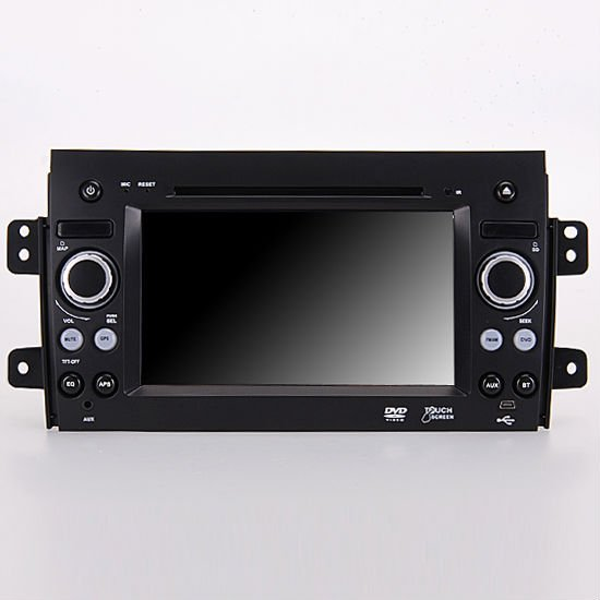 "7"" Car DVD Player GPS Navi Bluetooth ipod for 2006 Suzuki SX4 Crossover backrear view TV RDS SD USB mp3 Radio"