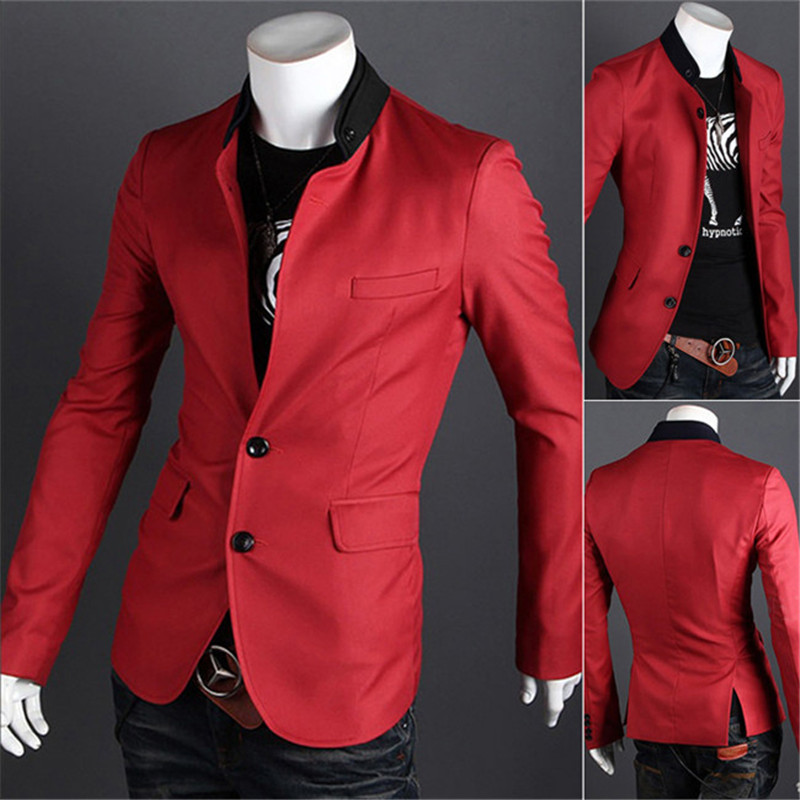 Casual Blazer For Men Picture - More Detailed Picture About 2015 New Brand Autumn Men Blazer ...