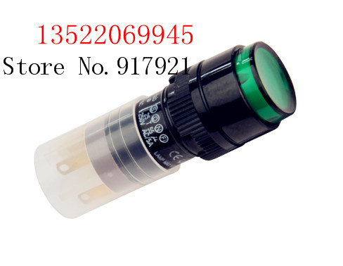 [ZOB] Progressive Alliance button switch P16LMR1-1AB lock without lock with light Mudeung round  --10pcs/lot<br><br>Aliexpress
