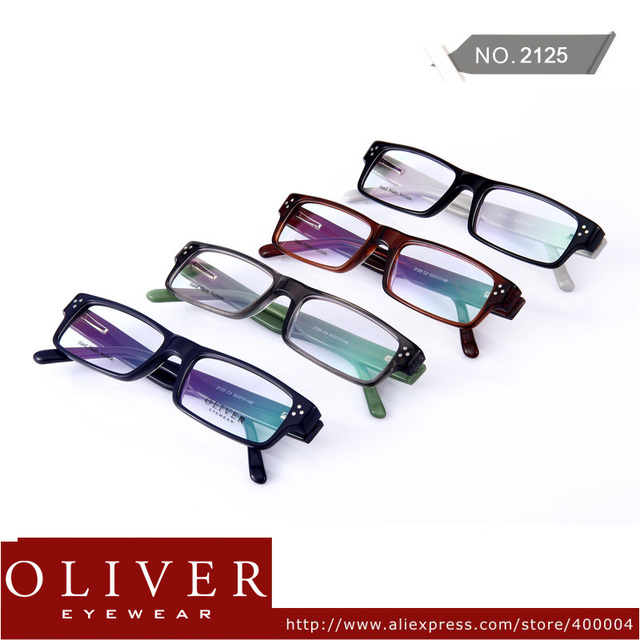 Wholesales!2013 Fashion Optical Frame For Men And Women Patchwork Frame Acetate Eyeglasses Frames 2125! Free Shipping!