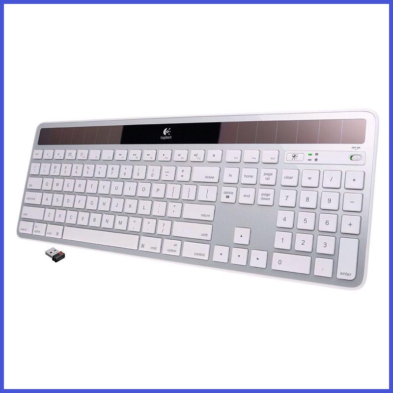 Solar Keyboard laptop keyboard for Logitech Logitech K750 wireless solar charge low-carbon life 2.4Ghz Wireless(China (Mainland))