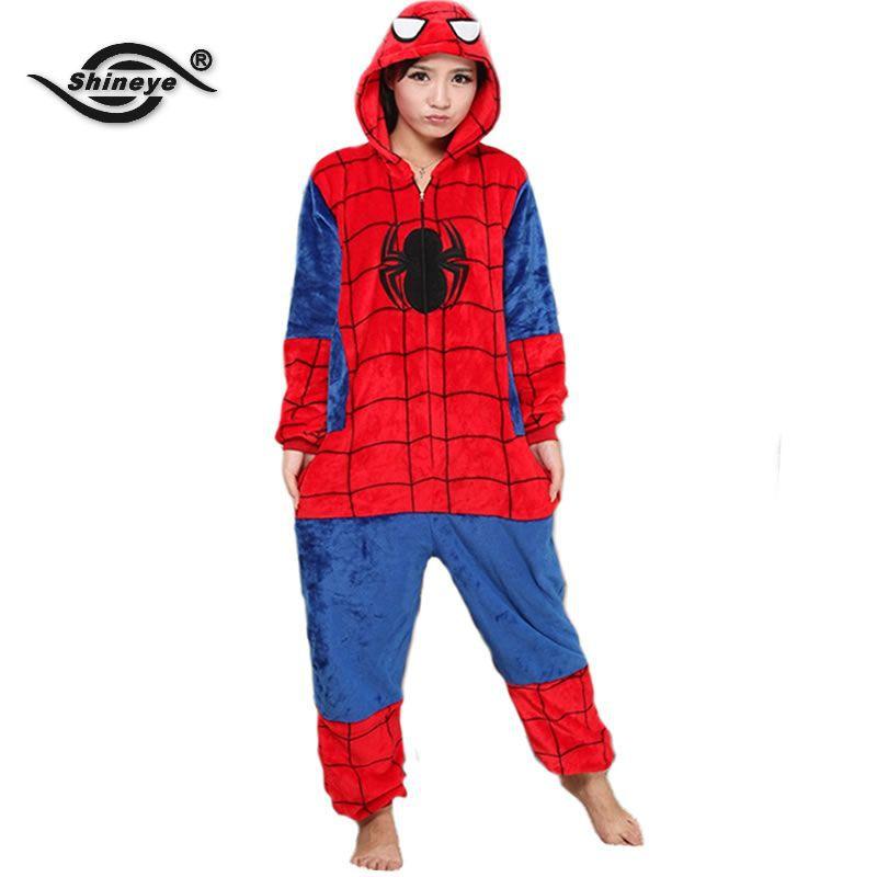 Achetez en Gros Spiderman pyjamas adulte en Ligne à des Grossistes Spiderman pyjamas adulte