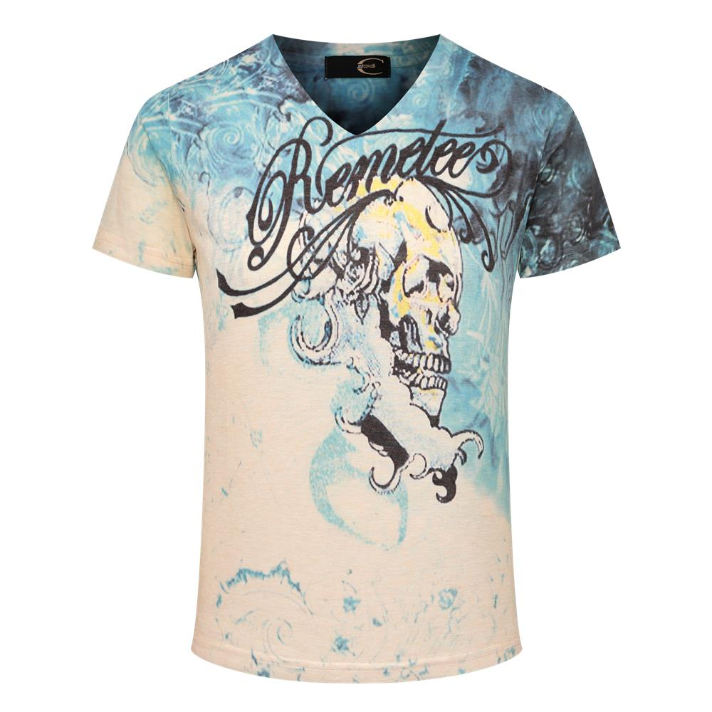 2016 summer v neck t shirts newest style 3d printed t for Collar t shirt printing