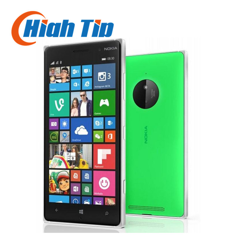 "100% original Nokia Lumia 830 Mobile phone 1G RAM 16G ROM Refurbished Quad core 10MP Camera 5"" screen GPS WIFI brand phone(China (Mainland))"