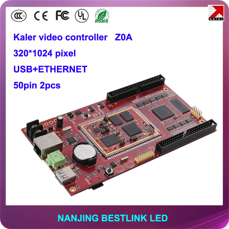 Kaler LED asynchronous video controller card Z0A for full color LED display screen for outdoor led video wall led curtain screen(China (Mainland))