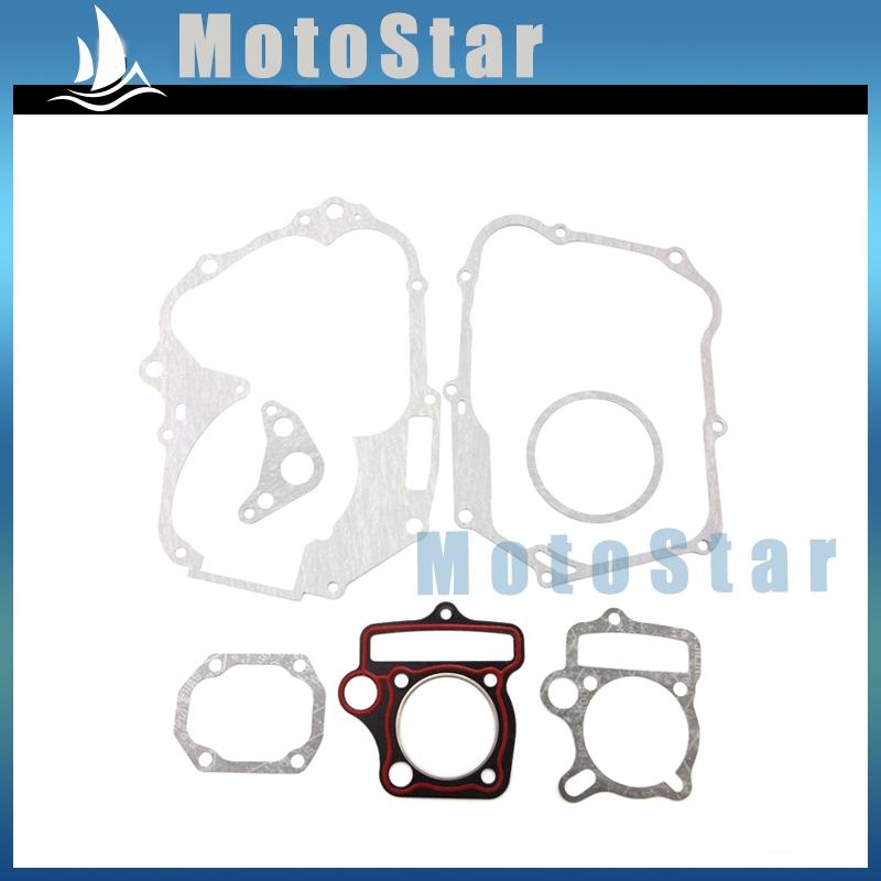 Motorcycle YX125 Engine Gasket Kit For Chinese Yinxiang YX 125cc Kick Start Pit Motor Dirt Pitmotard Bike Motocross(China (Mainland))