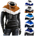 Free shipping 2016 Autumn Winter Men Brand Fashion Casual Slim Cardigan Assassin Creed Hoodies Sweatshirt Outerwear