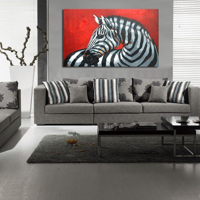 Fine zebras promotion achetez des fine zebras for Deco murale zebre
