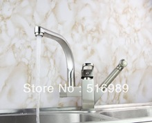 Buy New Brand Pull Deck Mount Swivel 360 Spray Chrome Brass Water Tap Sink Kitchen Torneira Cozinha Tap Mixer Faucet mak75 for $65.55 in AliExpress store