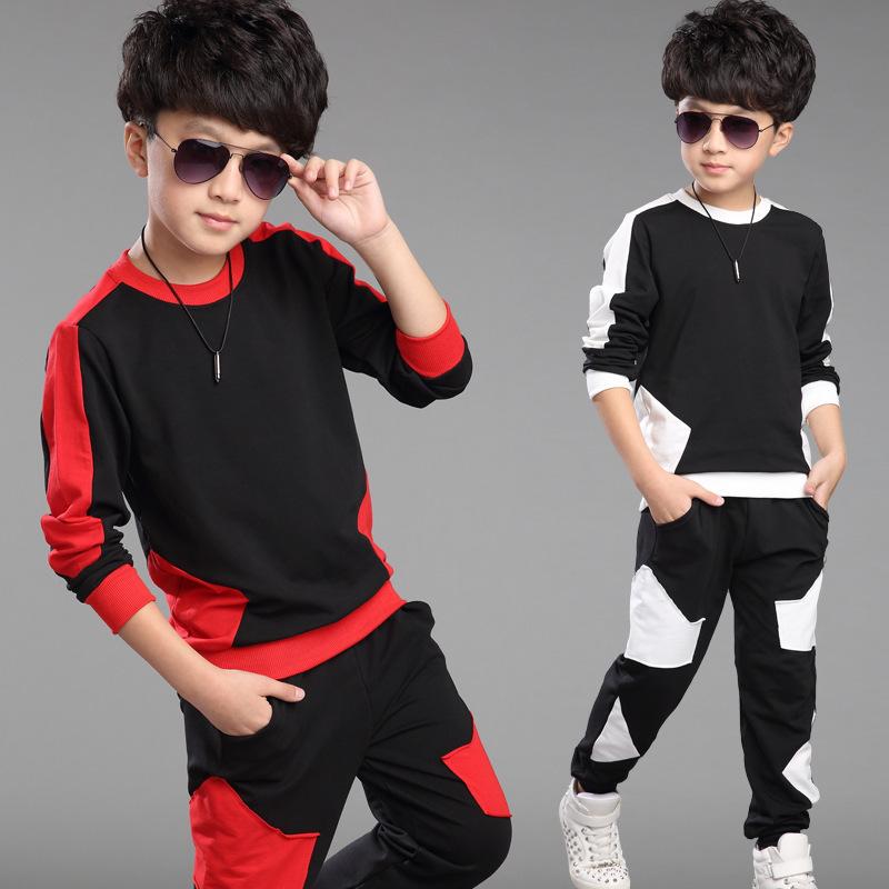 New Fashion Autumn Toddler Boys Clothing Sets Korean Style Children Sets Kids Boy Clothes 2pcs
