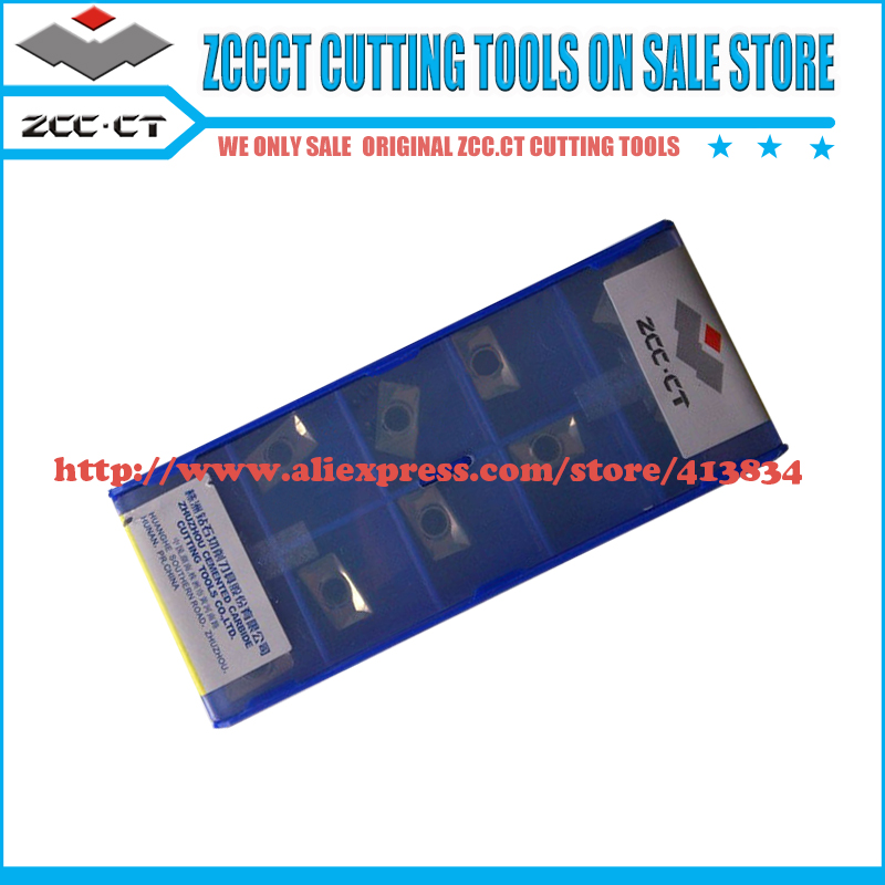 Promption!! 30 pieces APKT 11T308-LH YD101 Free shipping ZCC.CT carbide milling insert Positive insert aluminum cutter(China (Mainland))