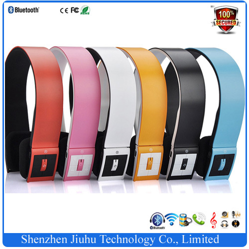 BH-02 Noice Cancelling Wireless Sports Headphone Bluetooth Headset Earphone with MIC For iPhone iPad Tablet PC DHL Freeshipping(China (Mainland))