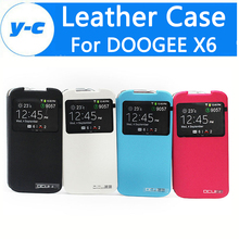 Buy DOOGEE X6 Case View Window 100% Newest Leather Flip Case Cover Doogee X6 PRO Cell Phone -Free Co.,Ltd) for $2.79 in AliExpress store