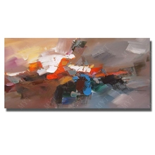 Buy Artist Painted Abstract Oil Paintings Canvas Picture Living Room Wall Cheap Modern Canvas Painting Framed Art for $13.60 in AliExpress store