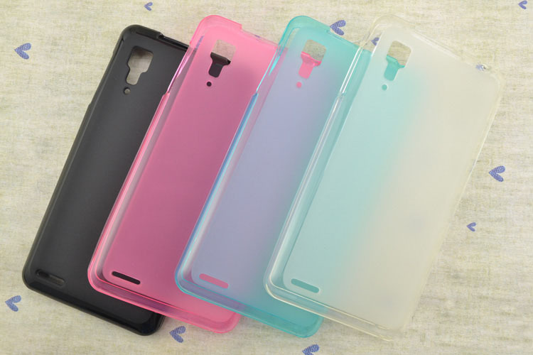 Case For Lenovo P780 Cell Phone Case Soft Silicon Material Pudding Frosted Back Cover Case Protector(China (Mainland))